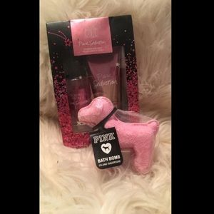 Victoria's Secret Other - 💅🏽Victoria Secrets Travel Set & Pink Bathbomb🎀